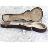 PVC Leather Classical Guitar Hard Case / Velvet Dreadnought Guitar Case Manufactures