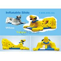 Animal Inflatable Slide 7.6*5.6*5.4m Dalmatian Dog Shape For Outdoor Games Manufactures