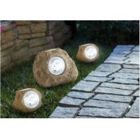 Quality IP65 Waterproof Stone Solar Lights  4500K - 5200K For Lighting Decorative for sale
