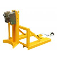 360Kg Forklift Drum Lifter with Double Grippers , drum handling equipment Manufactures