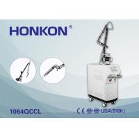 High Uniform Spot Nd Yag Laser Tattoo Removal Machine For Pigmentation Correctors Manufactures