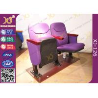 Buy cheap Small Size Space Saving Lecture Hall Chairs Without Writing Table from wholesalers