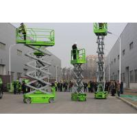 Hydraulic Small Elevated Lift Platform 6m Working Height With 230kg Capacity Manufactures
