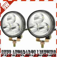 Epistar Off Road LED Driving Work Light Auto Motocycle JEEP 9W Working Lamp Spot Beam Manufactures