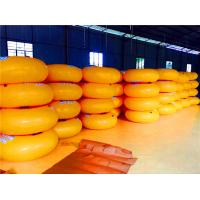 Customized Inflatable Water Toys , Water Amusement Inflatable Water Ring Swimming Ring Manufactures