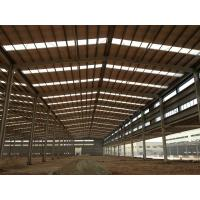 Customized H Beam Prefabricated Building Steel Frame For Industry workshop Manufactures