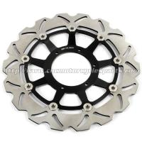 High Strength Custom Motorcycle Brake Rotors For Racing Bike Parts Manufactures