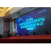 Small Pixel Stage Rental Led Display , Indoor Full Color Led Display For Product Launch Manufactures
