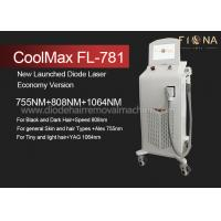 Multi Wavelength Professional Laser Hair Removal Equipment With ISO13485 Manufactures