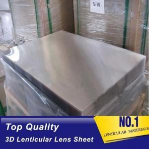 OK3D Plastic Lenticular outdoor 120cmx240cm 6mm lenticular board for  3D lenticular wedding photo and big size 3d print Manufactures