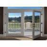 Buy cheap Interior Design Aluminum Frame Sliding Glass Doors Bathroom Toilet Application from wholesalers