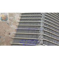 Quality DEWATERING SCREEN PANEL / WEDGE WIRE GRATING / JOHNSON SCREEN SUPPORT GRIDS / for sale