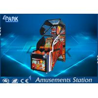 Led Street Arcade Basketball Game Machine Coin Operated With Metal Frame Manufactures