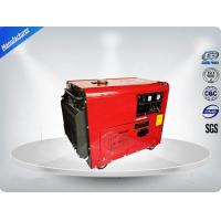 5.0 Kva Diesel Portable Generator Set Silent Type With Electric Starter Manufactures