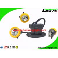 Buy cheap Low Power Warning LED Miners Lamp Yellow / Black Color For Underground Safety from wholesalers