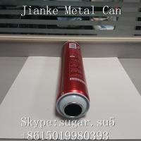 China Aerosol Tin cans necked in Diam.52mm height 180mm for hair styling gel on sale