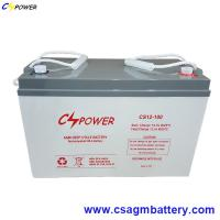 12V 100ah VRLA Deep Cycle Lead Acid AGM Battery for UPS Manufactures