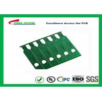 China Green Double Sided PCB With Chem Ou/Ni ( UL, RoHS ) FR4 1.6MM Audio PCB on sale