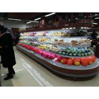 China 4 Side Round Refrigerated Island Merchandiser With Dixell Digital Temperature Controller on sale