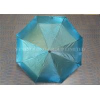 Chameleon Shinning Fabric Windproof Folding Umbrella For Sun Protection Manufactures