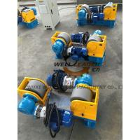 Conventional Light Pole Welding Machine Variable Speed Pipe Rotators For Welding Manufactures