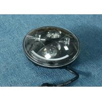 """Quality 70W 7"""" Jeep LED Headlights High / Low H4 Or H13 Jeep Half Halo Ring for sale"""