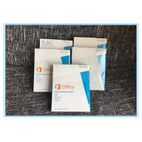 FPP Microsoft Office 2013 Retail Box Home / Business Product Key Online Activation Manufactures