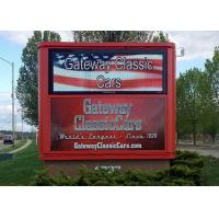Buy cheap Commercial DIP P10 Outdoor Front Service LED Display For Advertising from wholesalers