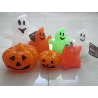 Quality Led Pumpkin Lantern , Holiday Decoration LED Toy Flashing Balls For Babies for sale