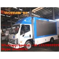 customized mobile LED advertising truck with stage for VIVO Mobilephone, hot sale forland 4*2 LHD LED billboard vehicle Manufactures