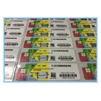 Windows 10 Pro Product Key COA License Sticker for OEM Software Customised FQC Manufactures