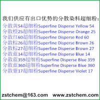 Best price of superfine disperse dye from ZSTCHEM Manufactures