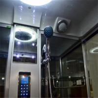 Quality Tempered Glass Rectangle Steam Shower Tub Combo With Computer Controlled for sale