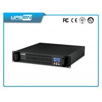 19 Inch Rack Mountable Ups With Surge Protection And Short Circuit Protection Manufactures