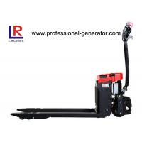 DC Controlled Warehouse Material Handling Equipment Narrow Aisle Electric Pallet Truck Manufactures
