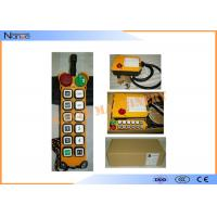 F24-12D  Wireless Hoist Remote Control Handheld Fiberglass Double Speed Manufactures