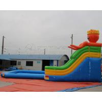 Quality Most Popular PVC Blow up kids mobile inflatable octopus water slide amusement park for sale for sale