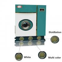 Quality 8kg Automatic Dry Cleaning Machine Perchlorethylene Laundry Equipments for sale