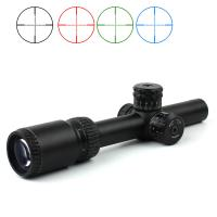 Buy cheap Military Equipment Ar15 Optic Hunting Rifle Scopes 1-6x20 Three Colors Illuminated Telescopic Sight from wholesalers