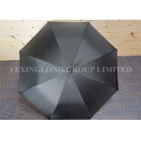 Fashionblack Long Handle Umbrella , Big Golf Umbrella Promotional Gifts Manufactures