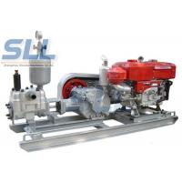 Diesel 10HP Power Cement Grouting Pump For Engineering Construction Manufactures