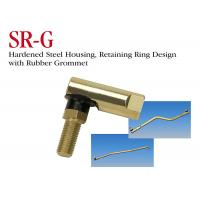 China Hardened Steel Housing Stainless Steel Ball Joint SR - G Series With Rubber Grommet on sale