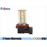 5050 H11 27 SMD LED Car Light Bulbs For 9-14.8V Automotive White / Yellow Color Manufactures