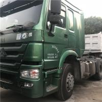 Used Howo 10-wheel HOWO truck 6x4 tractor head used second hand trucks/volvo tractor 12 wheels for sale Manufactures