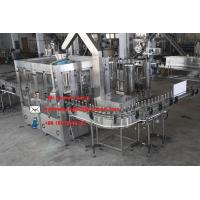 China sparkling flavored water bottling machines on sale
