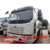 Quality FAW J6 13,000L stainless steel foodgrade milk tank truck for sale, China famous for sale