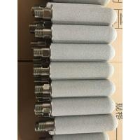 Buy cheap stainless steel powder sintered porous metal filter titanium ss filter cartridge from wholesalers
