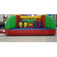 Funny Durable 0.55mm PVC Tarpaulin Inflatable Sport Game for Kids Playing Manufactures