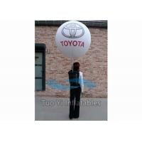 Quality LED Giant Moving Advertising Inflatable Balloon Walking Light Ball With Logo for sale