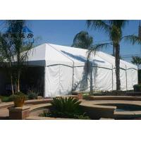 White Color Heavy Duty Party Tent , Wind Resistant Easy Assembled Marquee Tent Wedding Manufactures